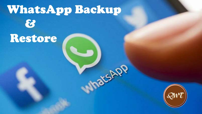 How to Backup WhatsApp Messages